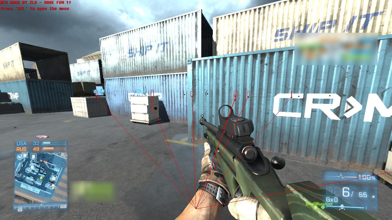 Battlefield 3 Hacks - BF3 Cheats - Battlefield 3 Aimbot