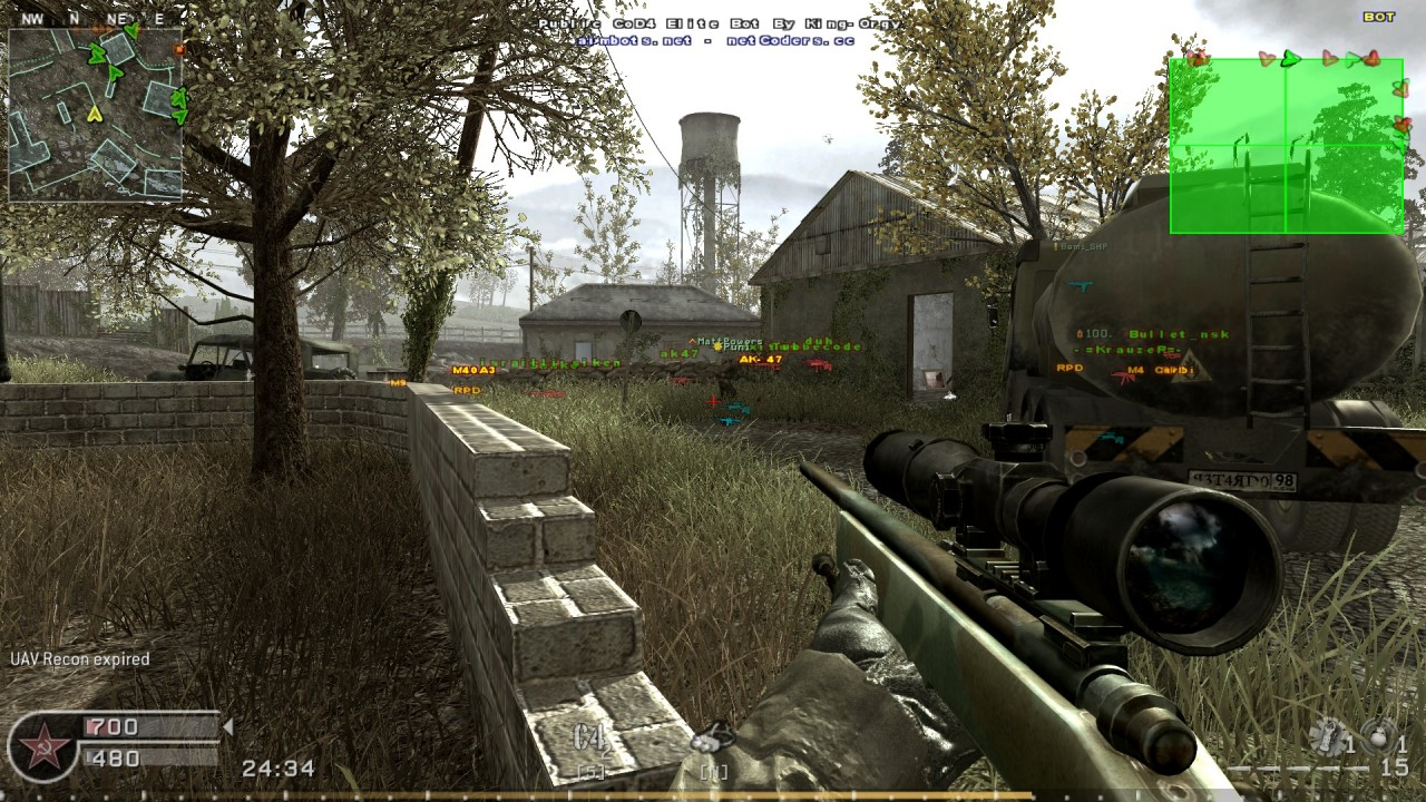 Release] cod4 aimbot mpgh multiplayer game hacking & cheats.