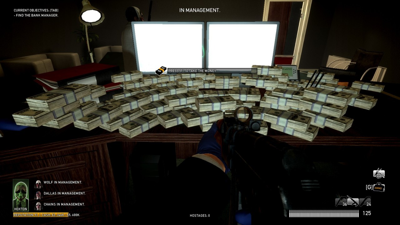Payday: The Heist Ultimate Trainer V2.11 - Downloads ...