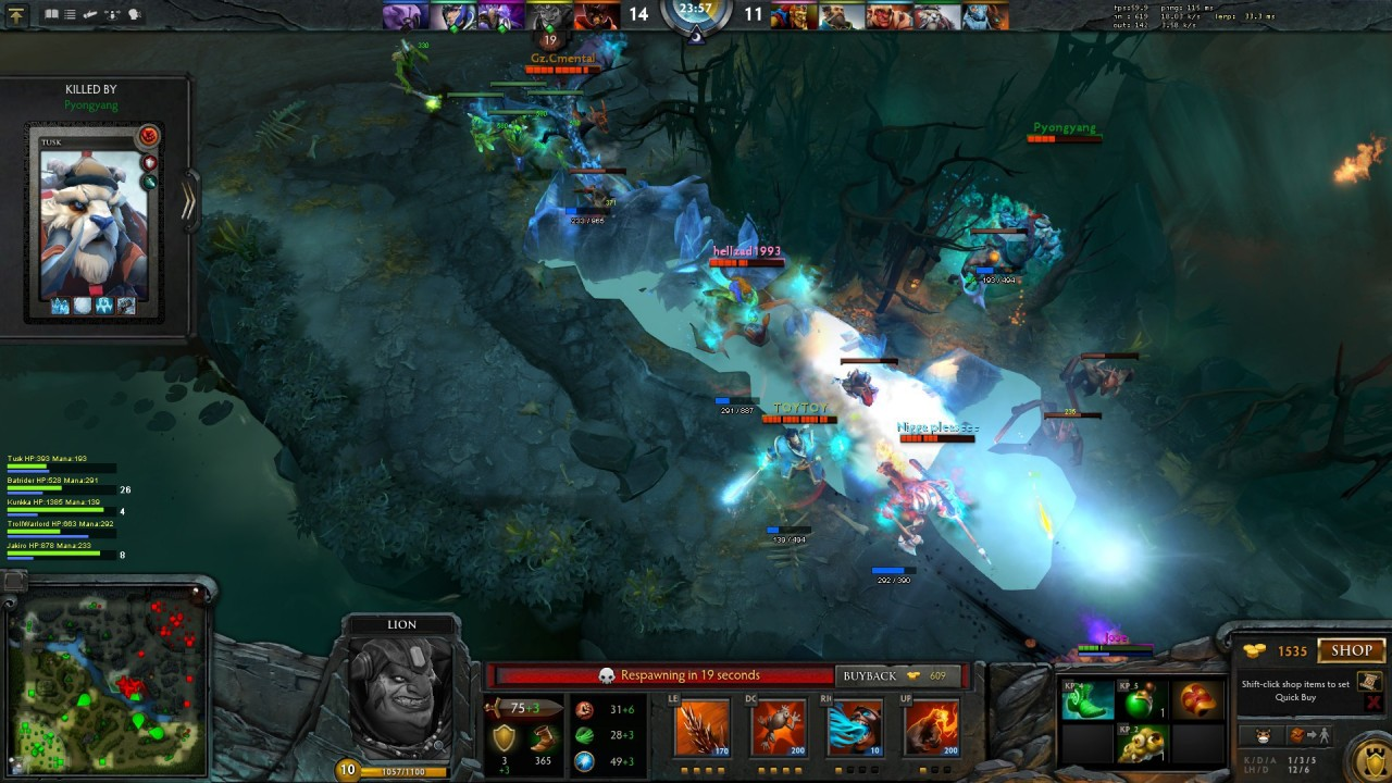 Dota 2: cheats, game features 100