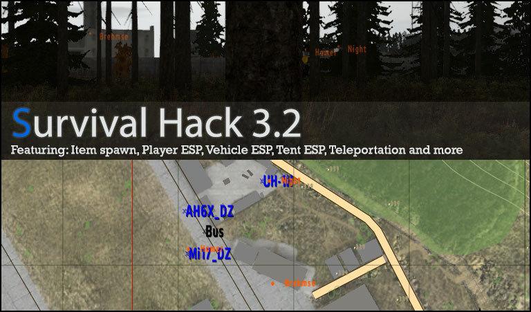 Dayz map hack