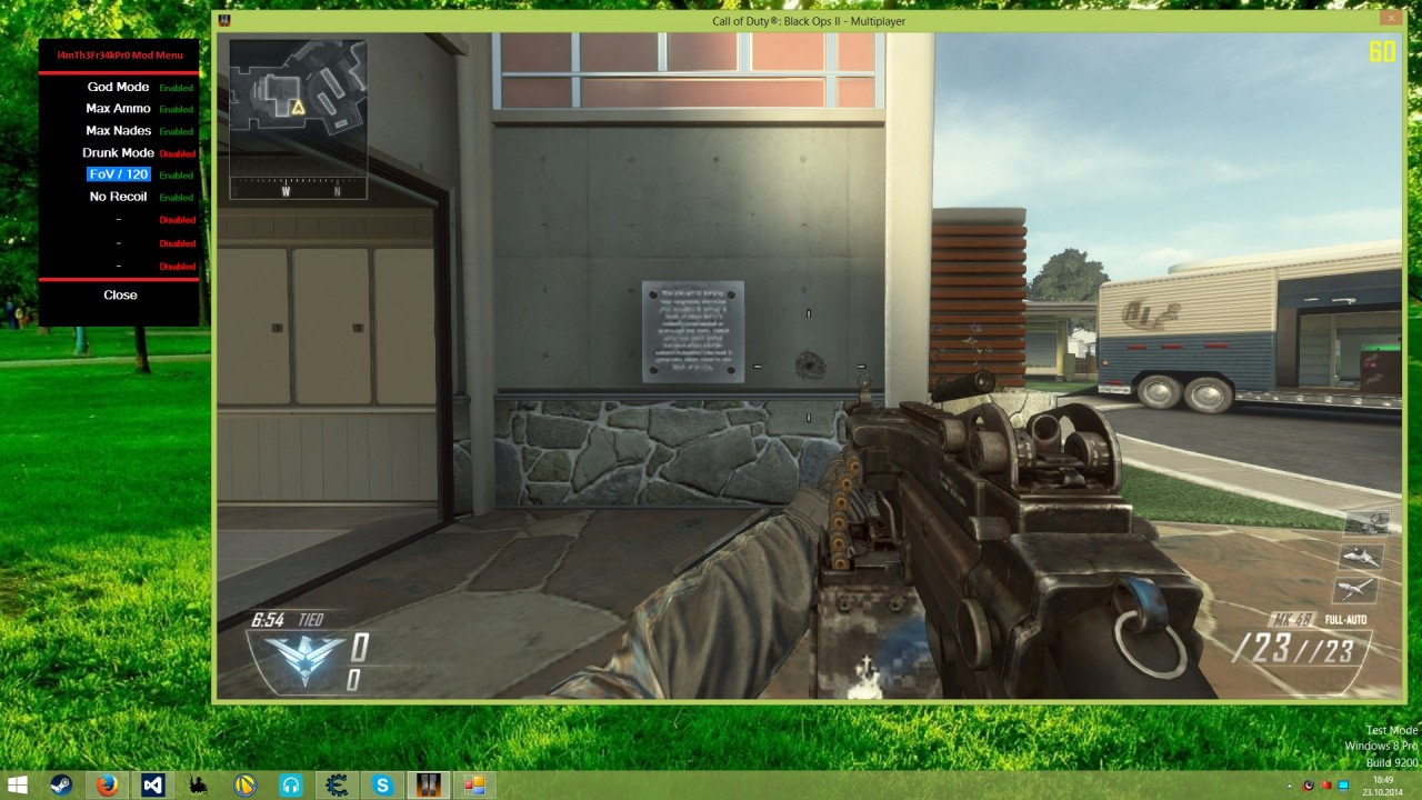 how to use god mode in private match mwr